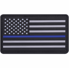Tactical Armor Concepts Thin Blue Line PVC Velcro Backed Patch