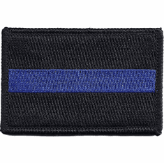 Tactical Armor Concepts Thin Blue Line Velcro Backed Patch # 2