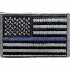 Tactical Armor Concepts Thin Blue Line Velcro Backed Patch