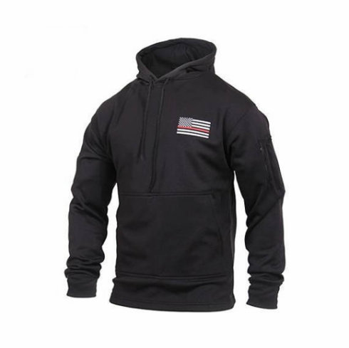 Tactical Armor Concepts Thin Red Line Hoodie With Conceal Carry Pocket