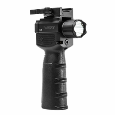 Vertical Grip With Strobe, Flashlight & Green Laser