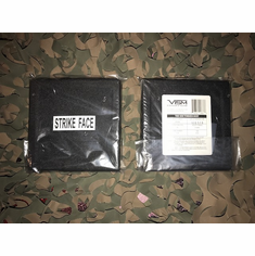 "VISM 6"" X 6"" Level III UHMWPE Ballistic Body Side Armor Plates (2)"