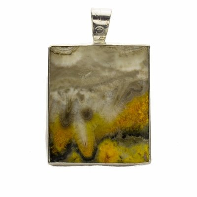 Bumble Bee Jasper Picture Pendant