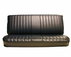 Acme U916PC-0511 Front and Rear Red Vinyl Bench Seat Upholstery