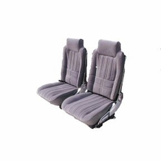 1981-1988 Oldsmobile Cutlass 442 Coupe Front Hurst Buckets and Rear Bench Seat Upholstery Kit U2103