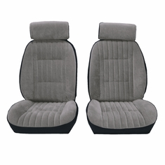 1982-1988 Regal/Malibu/Monte Carlo/Cutlass/Grand Prix Coupe, Front European G Bucket Seats with Rear Bench and Head Rest Seat Upholstery Kit U2006S