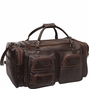 ***Hand-tooled Leather Duffle***                              TOP SELLER
