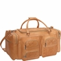 Hand-tooled Leather Duffle Bag