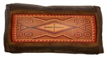 Leather Pillow - Navajo