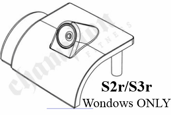 Top Cover W/ Audio Jack, S2R/S3R WINDOWS ONLY