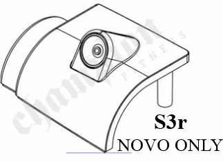 Top Cover W/ Audio Jack, S3R NOVO and HD ONLY
