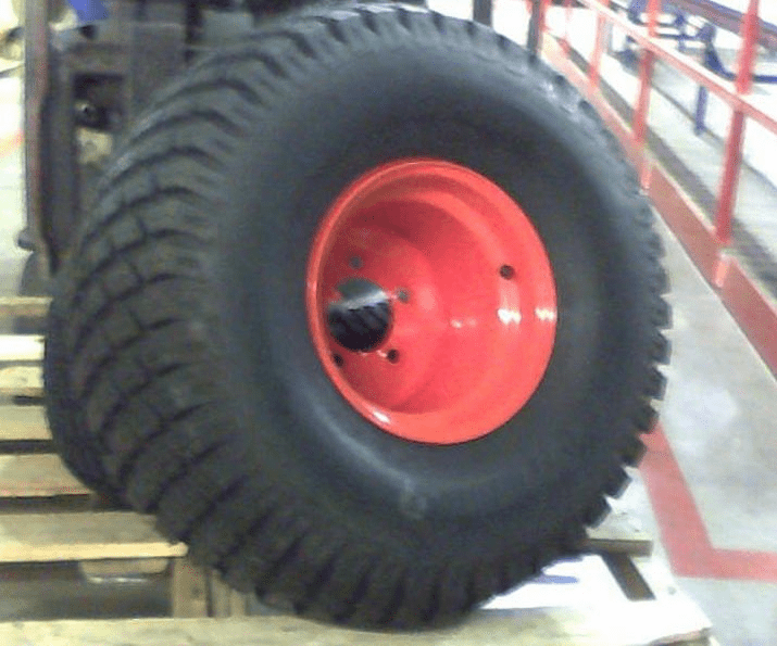 Bad Boy Mower OEM  022-4000-00 24 x 12.00 - 10 Tire and Wheel