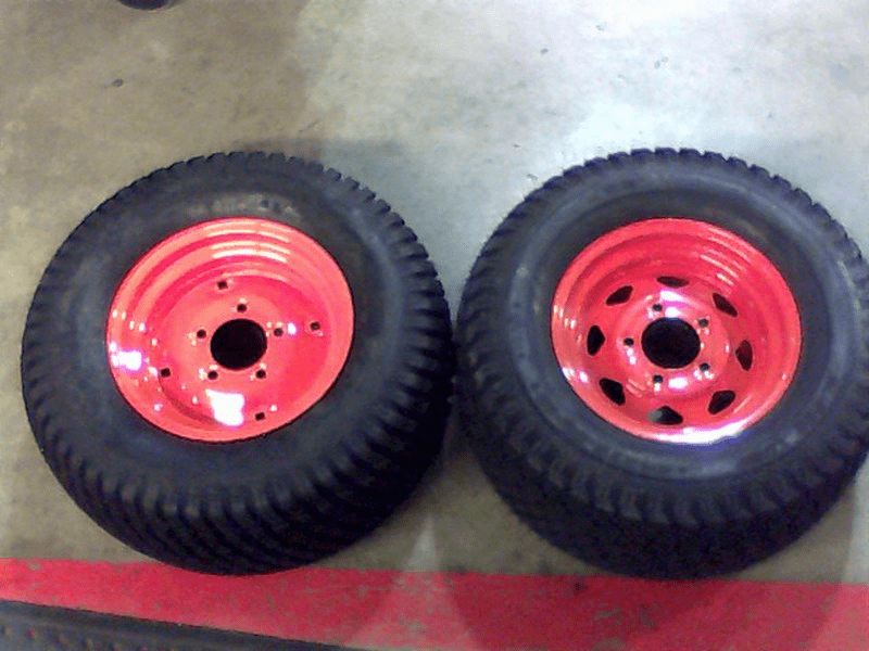 Bad Boy Mower OEM  022-5450-00 24 x 12.00 - 12 Tire and Orang