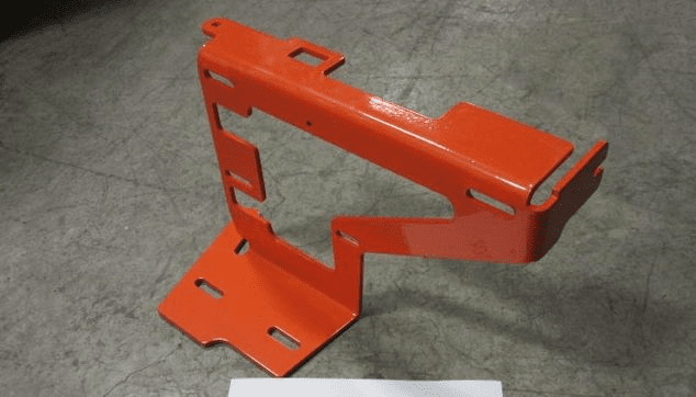 Bad Boy Mower OEM  031-2045-00 2016 Outlaw Tank Support