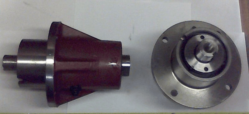 Bad Boy Mower OEM  037-7000-00 Greasable Short Spindle - Red
