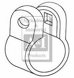 Brand New Ford Tie Rod Tube Clamp 957E3287