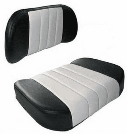 Case/IH Seat Assembly Black/White
