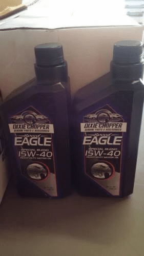 Dixie Chopper OEM Speed Eagle 15W40 Oil 2QT Special