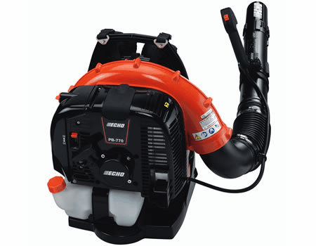 ECHO PB-770T 63.3 cc Backpack Blower with Tube-Mounted Throttle