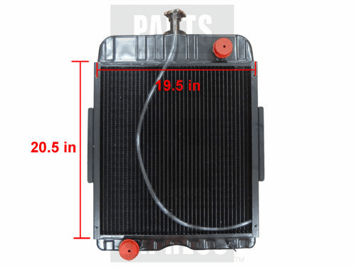 New Case/IH Radiator fits Several 378713R92