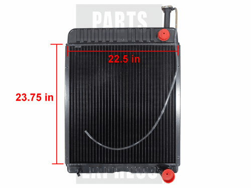 New CASE/IH Radiator fits Several 71611C1
