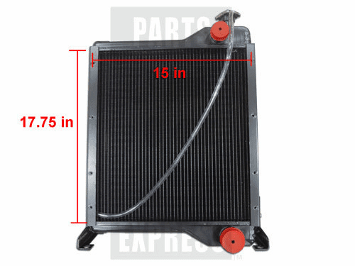 New CASE/IH Radiator fits Several 84673C6