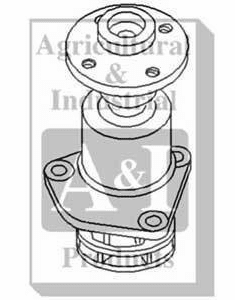 New Case/IH Water Pump A48360 fits DC
