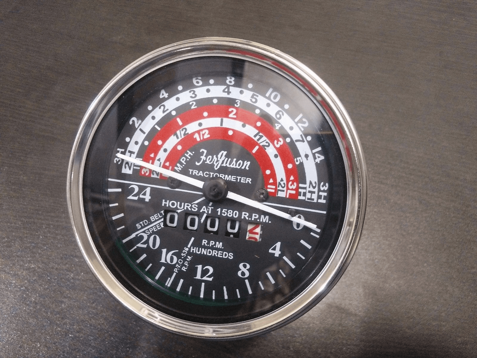 New Massey Ferguson Tach Gauge for TO35 or 50