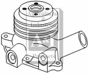 New Water Pump for Case/IH K952714