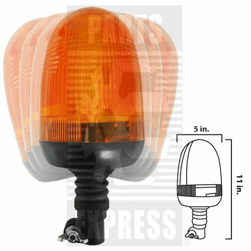 Parts Express Light, Cab, Warning Beacon  Replaces  BLED173