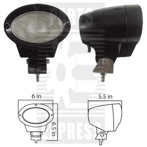 Parts Express Lights, Cab, HID      Replaces  HID-2011