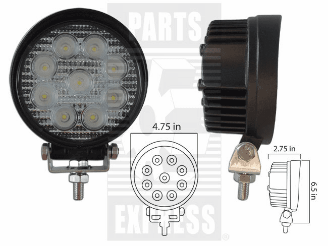 Parts Express Lights, Cab, LED      Replaces  LED-920F