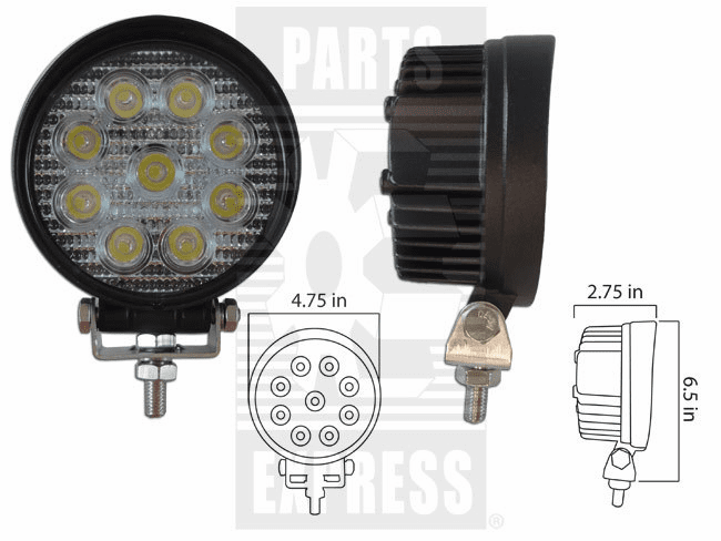 Parts Express Lights, Cab, LED      Replaces  LED-920S
