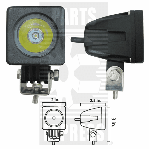 Parts Express Lights, Cab, LED      Replaces  LED101S