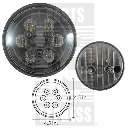 Parts Express Lights, Cab, LED      Replaces  RE561116