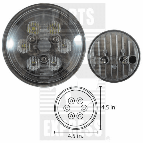 Parts Express Lights, Cab, LED      Replaces  RE561117