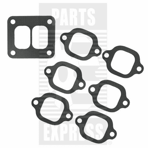 Parts Express Manifold, 6 Cylinder, Diesel, Gasket Set  Replaces  A58895SET