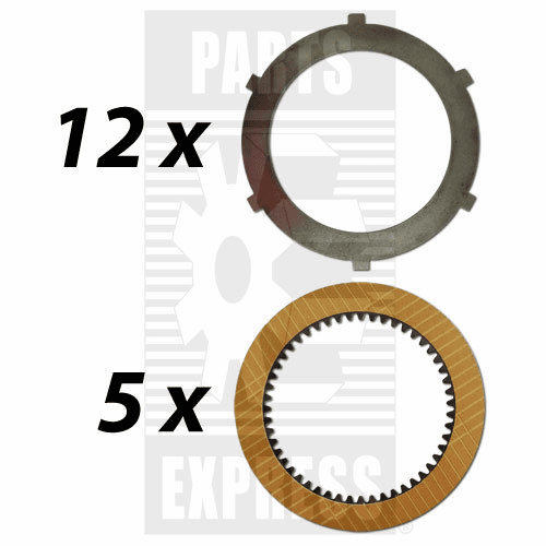 Parts Express PTO, Clutch Pack, Disc Kit  Replaces  68802C91