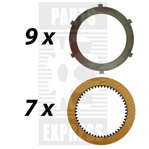 Parts Express PTO, Clutch Pack, Disc Kit  Replaces  68803C91