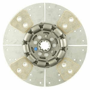 "Reman Heavy Duty Clutch Disc for Allis Chalmers 10"" 10 Spline"