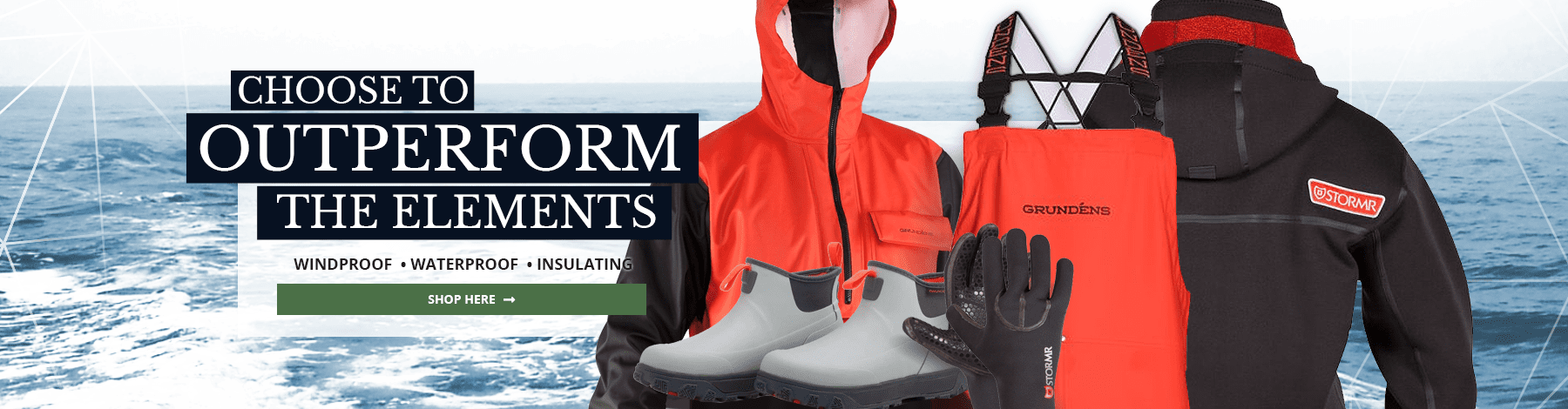 Windproof, Waterproof, Insulating Gear and Clothing