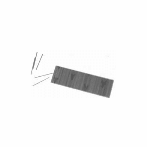 """Grex P6/25-ST 1"""" Length 23 Gauge Stainless Steel Headless Micro Pin Nails (5,000 pins)"""