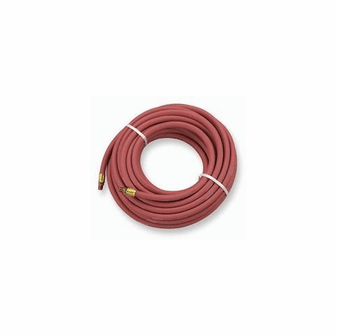 "Interstate Goodyear HA44-100 1/4"" dia x 100' Red Rubber Air Hose"