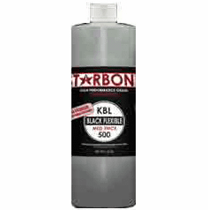 Starbond KBL 500 Black Medium Thick Cyanoacrylate Adhesive 16oz x 6ea, Includes 12 FREE empty 2oz application bottles with Tips