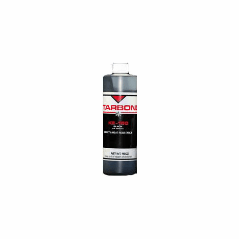 Starbond KE 150 Black Medium Cyanoacrylate Adhesive 16oz, Includes 2 FREE empty 2oz application bottles with Tips