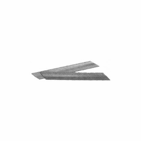 """UNDA17SS 1-1/2"""" Length 15 Gauge Angle Finish Nails Stainless Steel (1,000 Nails)"""