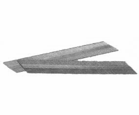 "UNDA21SS 2"" Length 15 Gauge Angle Finish Nails Stainless Steel (1,000 Nails)"