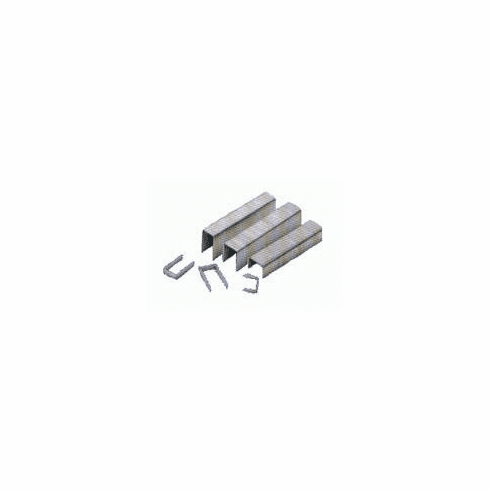 """USB8010SS 3/8"""" Length x 1/2"""" Crown 21 Gauge Stainless Steel Fine Wire Upholstery Staples (10,000 Staples)"""