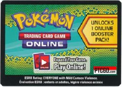 BW06 DRAGONS EXHALTED - Pokemon Pack Code
