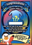 Webkinz RANDOM PET CODE from Webkinz Trading Cards Series 3 - Delivered by Fast and Free Email Delivery